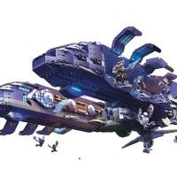 Halo Mega Bloks Covenant Spirit Exclusive Set Photos!