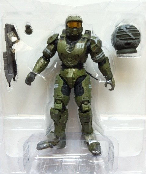 Toy Review The Package Master Chief Action Figure Halo