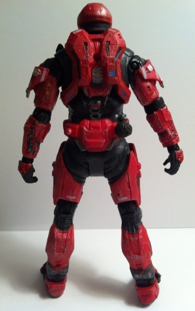 McFarlane Toys Halo Reach Series 6 Spartan Recon Exclusive Action Figure Red