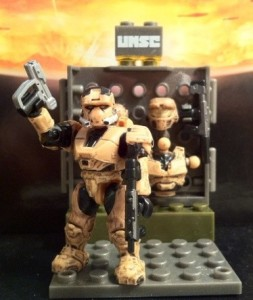 Planet Background Halo Mega Bloks UNSC Armory 96951 2012