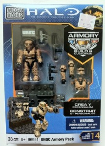 Halo Mega Bloks UNSC Packaged 96951 2012