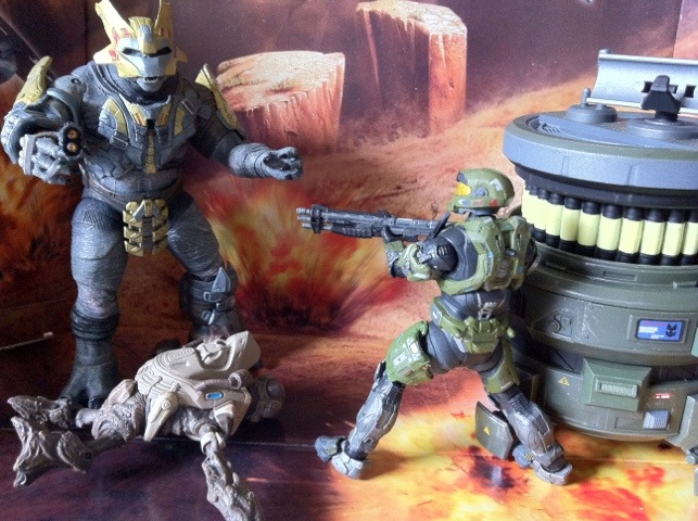TOY REVIEW: Halo Reach Generator Defense Boxed Set Series 6