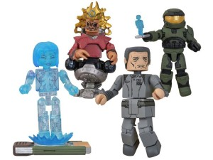 Halo Minimates Boxed Set 4