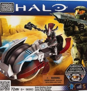 Packaged Halo Mega Bloks Brute Chieftain Charge 96993 Box