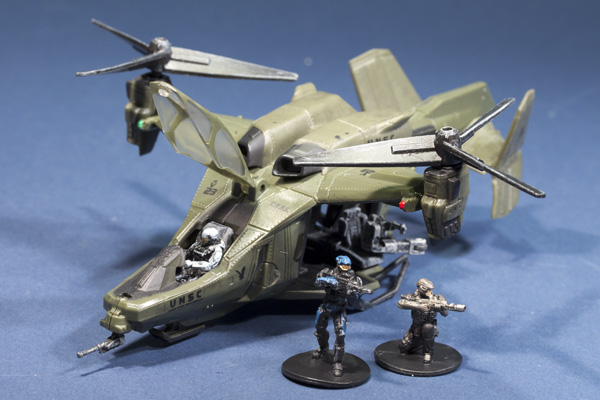 Halo Micro Ops Falcon Series 1 with Carter McFarlane Toys