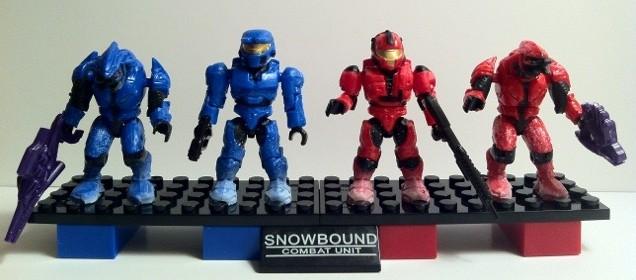 Halo Mega Bloks Versus Snowbound Combat Unit 97065 Review 2012