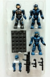 In Bubble Halo Mega Bloks UNSC Cobalt Combat Unit 97001 2012