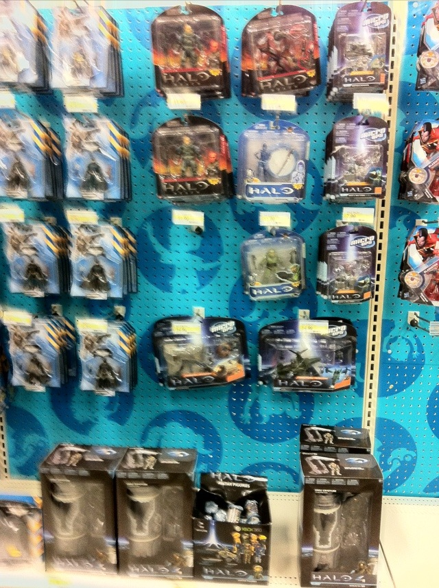 Halo 4 Toys Reset at Target