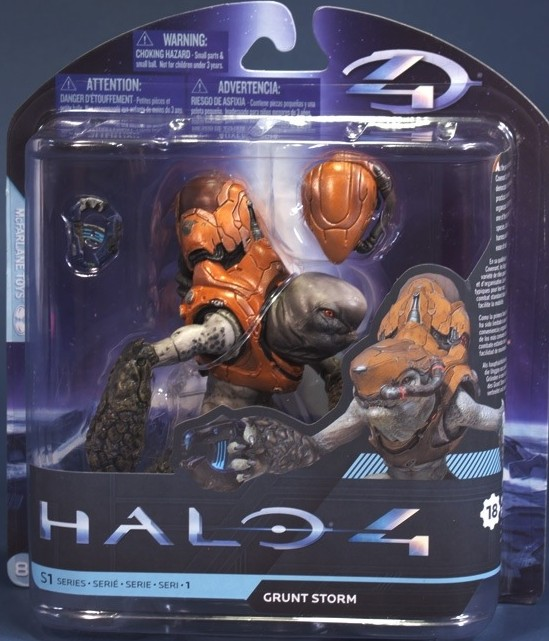 Brand New in package Grunt Storm Halo 4 McFarlane Action Figure