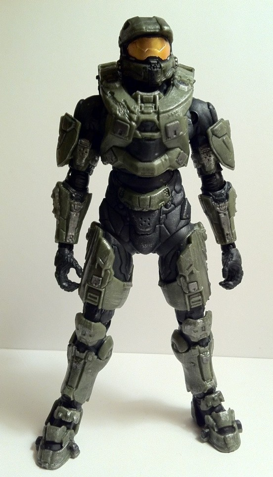 Halo 4 Master Chief Action Figure McFarlane Toys Series 1
