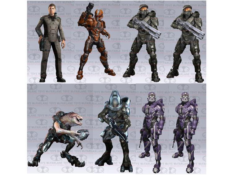 Halo 4 Series 2 Mcfarlane Toys