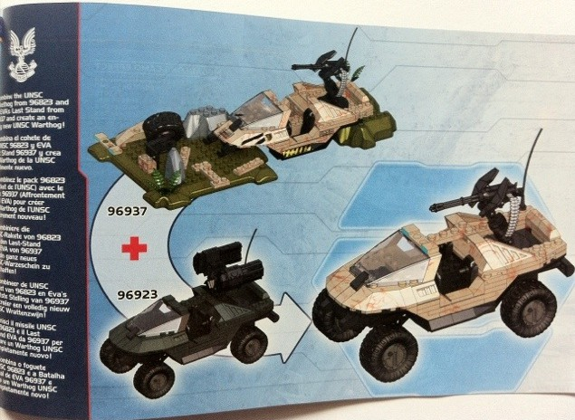 Halo Mega Bloks Evas Last Stand 96937 Review Halo Toy News