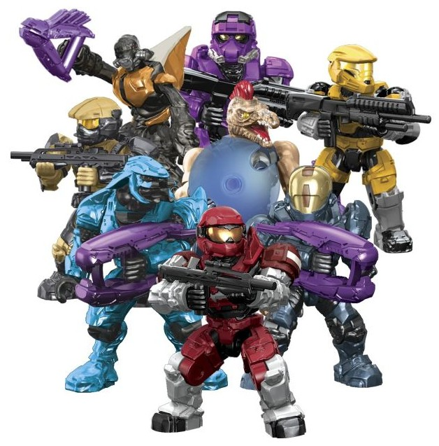 Halo Mega Bloks Series 6 Figures Hero Packs Lineup