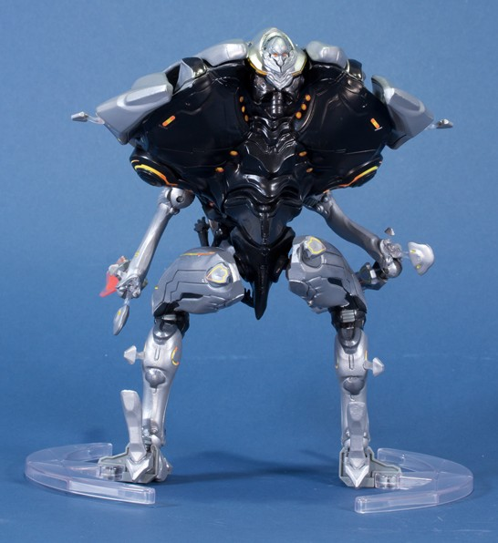 Back of Halo 4 Knight Figure by McFarlane Toys