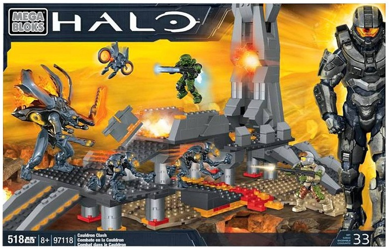 Biggest Halo Mega Bloks Set