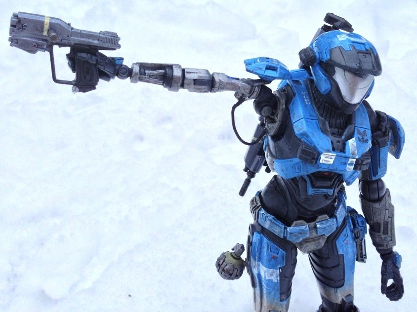 Minimates Halo Reach Magnum Halo Reach Figure
