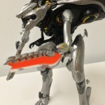 Halo 4 Promethean Knight Arm Blade on McFarlane Deluxe Boxed Figure
