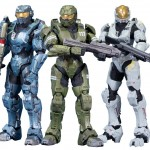 McFarlane Halo Legends The Package 3 Pack Figures Kelly Frederic Master Chief
