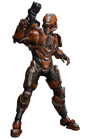 Mcfarlane Toys 2013 Halo 4 Series 2 Figures Prototype Photos