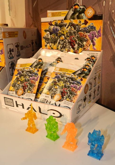 2013 Halo Mega Bloks Series 7 Mystery Pack Blind Bags Case