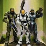 McFarlane Halo Legends The Package Three-Pack Master Chief Fred Kelly Figures