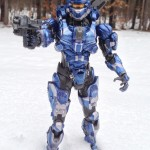 Halo 4 Magnum Wielded by Square-Enix Halo 4 Play Arts Kai Spartan Warrior Figure