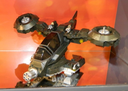 Halo 4 Mega Bloks Hornet UNSC VTOL Vehicle 2013 Toy Fair