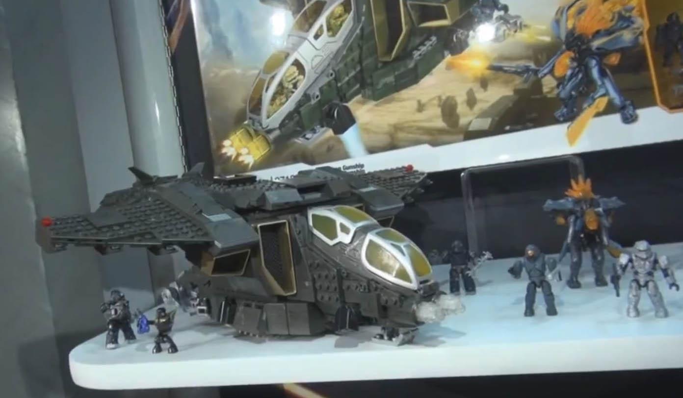 Halo 4 Unsc Guns Halo 4 Mega Bloks Unsc Pelican