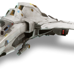 Halo 4 UNSC Broadsword Fighter Jet