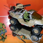 Halo Mega Bloks Gauss Warthog (Desert Version) Coming Summer 2013