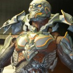 Toy Fair 2013 Halo 4 The Didact Figure Prototype Close-Up McFarlane Toys