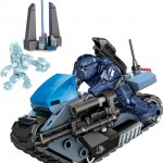 Halo Mega Bloks Summer 2013 UNSC Siege Bike ONI REAP-X Set