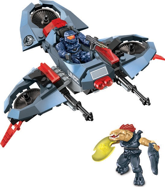 Halo Mea Bloks UNSC Light Assault VTOL ONI REAP-X Set Summer 2013