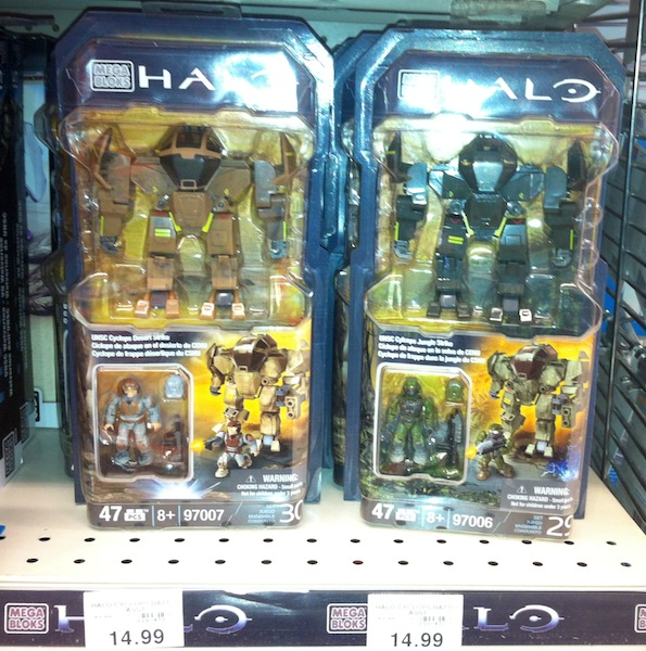 Halo Mega Bloks Cyclops Sets Released On Store Shelves