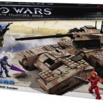 Halo Mega Bloks UNSC Scorpion Box Series 1 2009