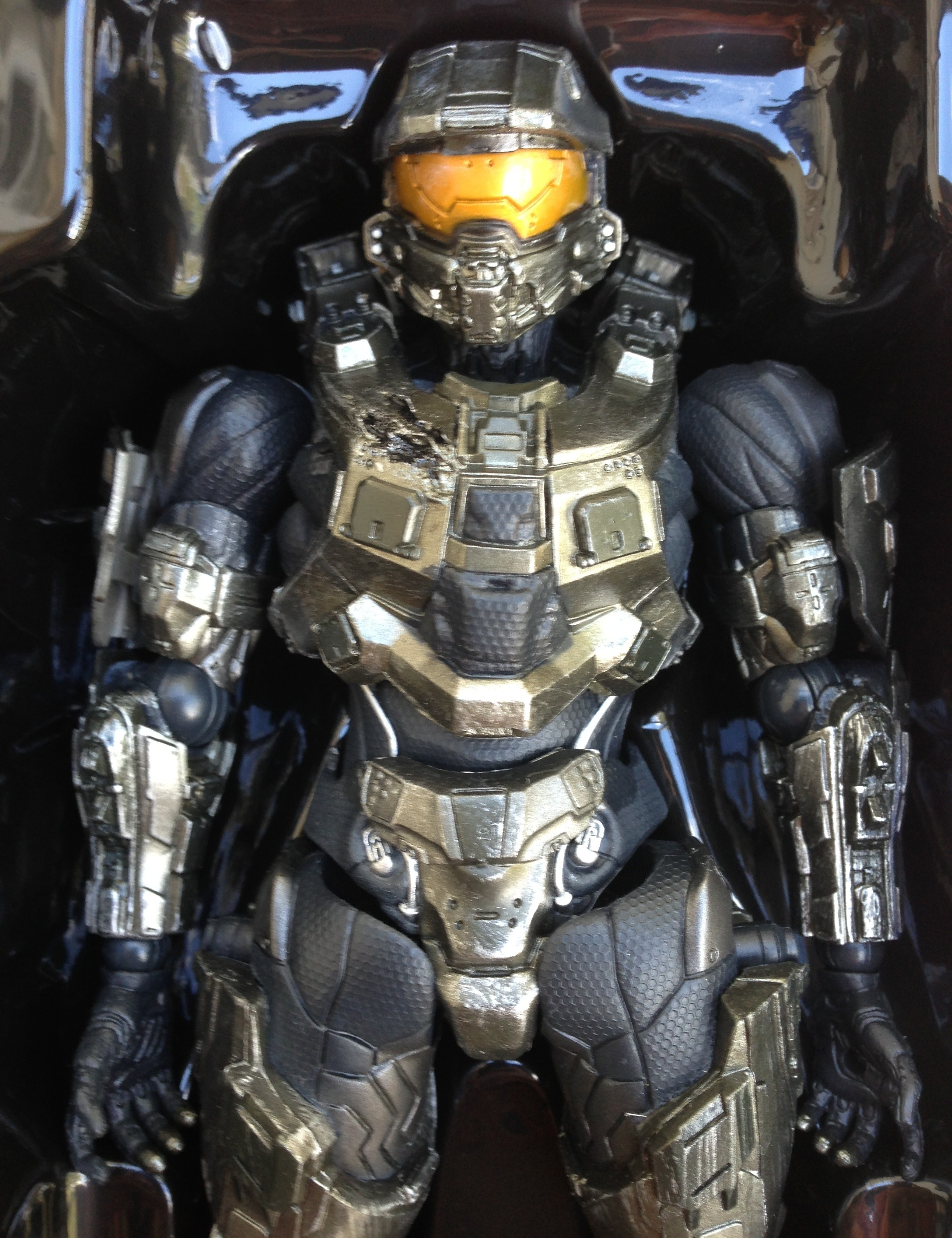 Halo 4 master chief play arts figure unboxing photos - Halo 4 photos ...