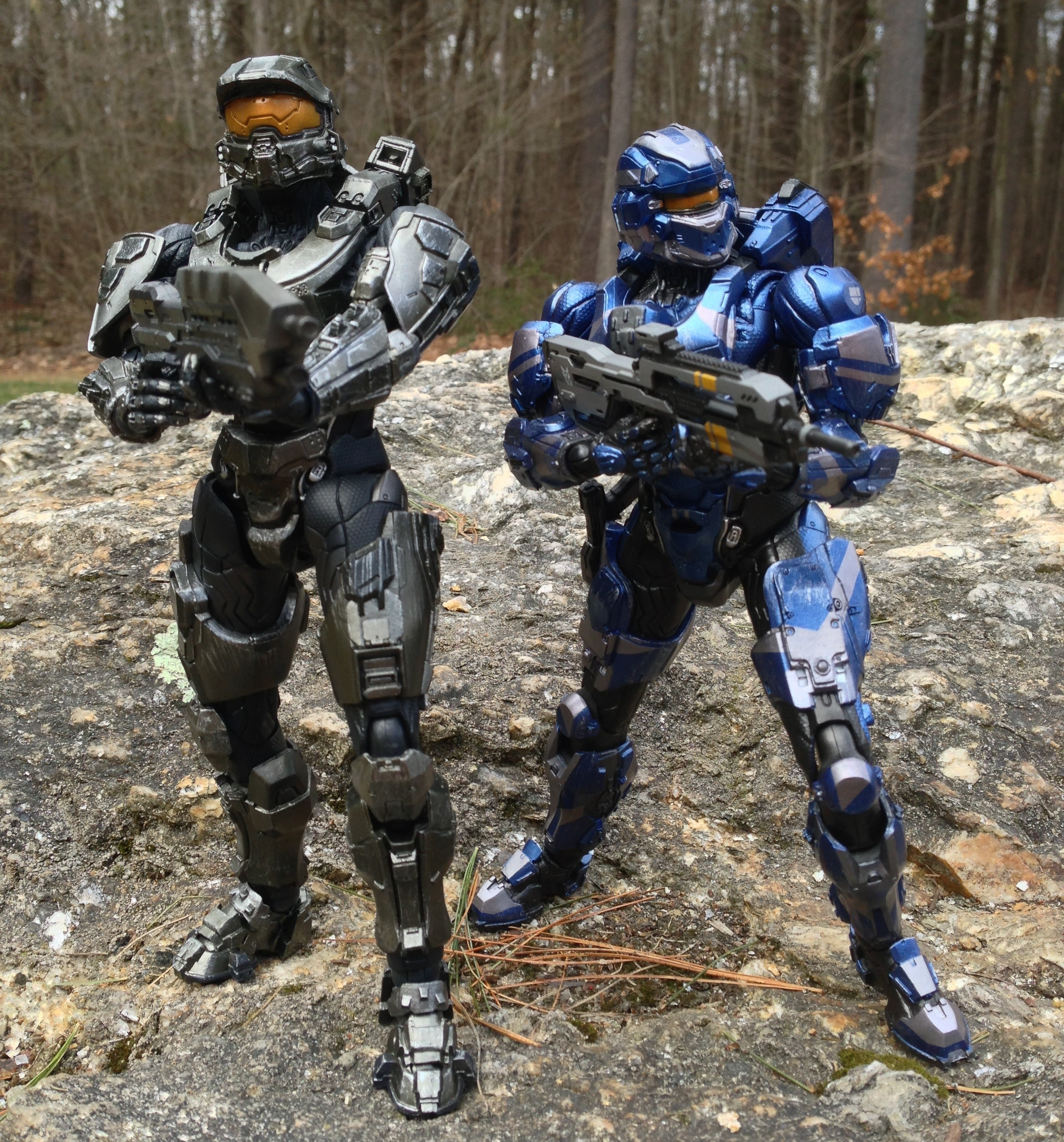 Halo 4 Play Arts Kai Master Chief Figure Review (Square ...