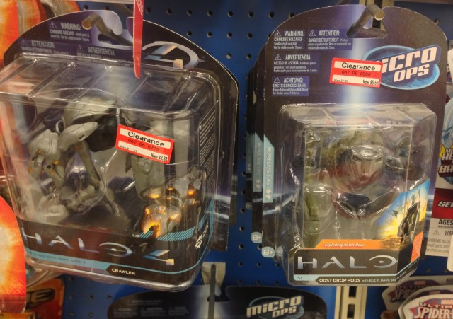 Halo 4 Figures and Halo Micro Ops Toys on Clearance