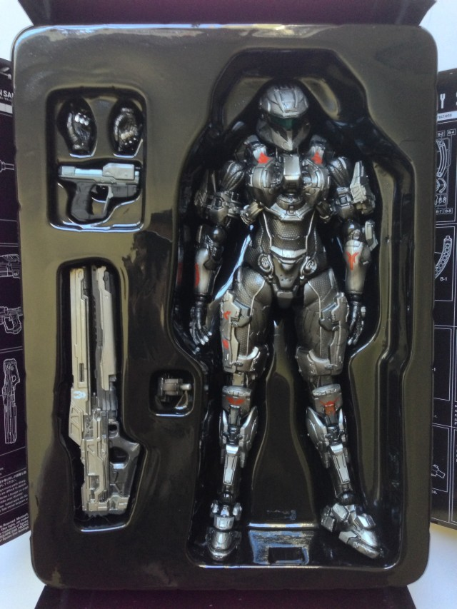 Sarah Palmer Action Figure in Packaging Square-Enix Play Arts Kai Halo 4