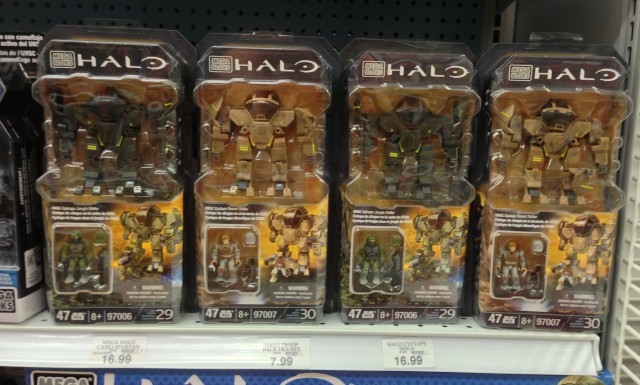 Halo Mega Bloks 2013 Cyclops Sets Released in the United States America