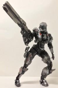 Halo 4 Play Arts Kai Spartan-IV Sarah Palmer Review