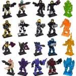 Mega Bloks Halo Series 7 Hero Packs Figures Photos & Rarity Details