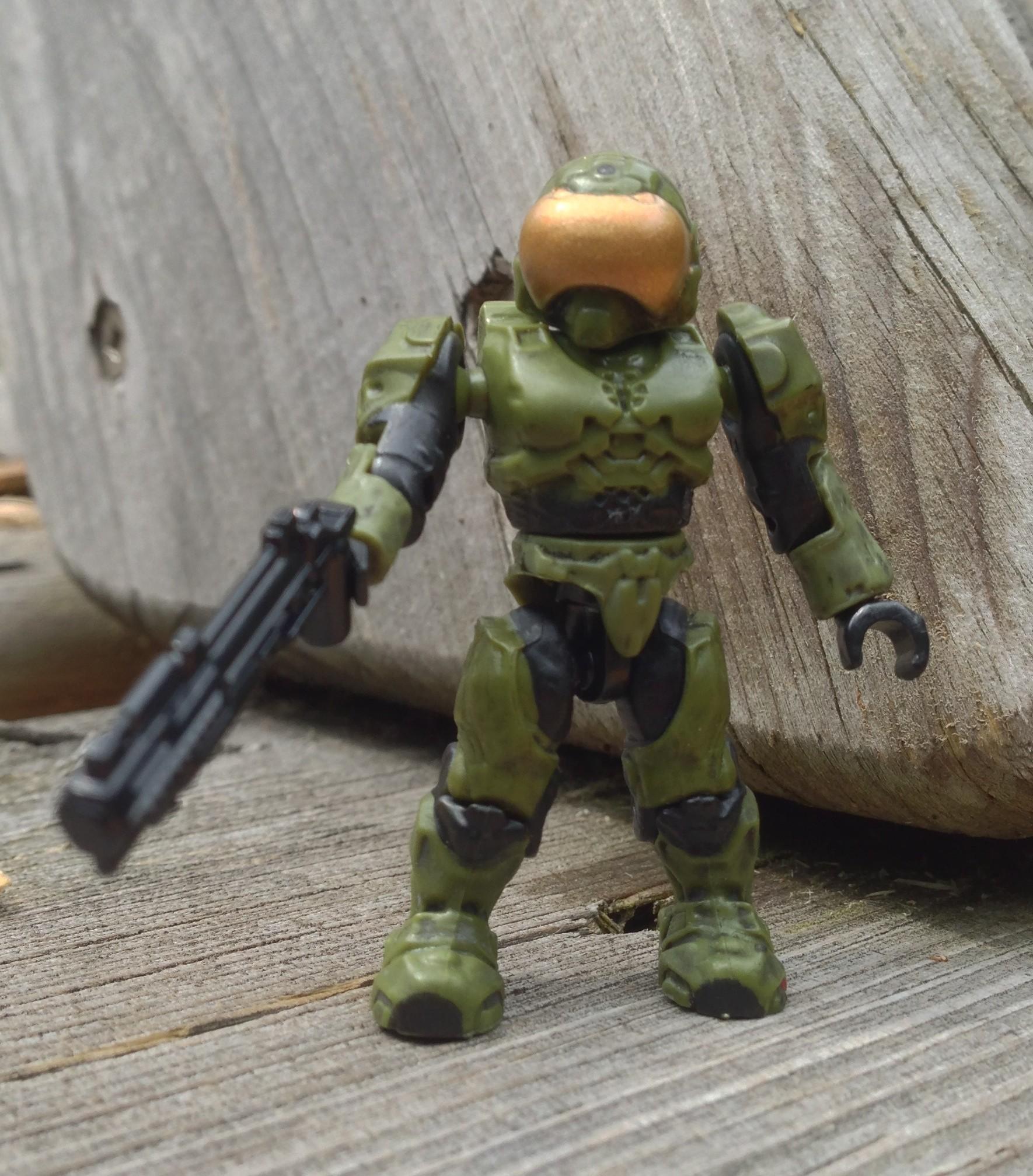 Halo Mega Bloks Brute Battle Unit 97085 Review w/ Spartan