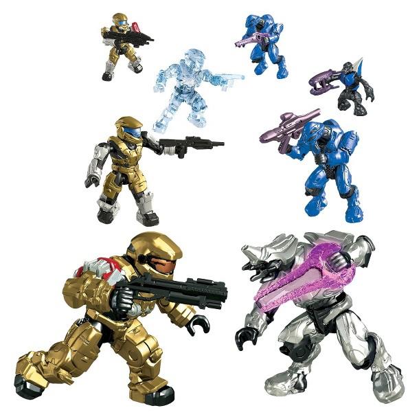 Team Blue Halo Mega Bloks Target Collector's Edition Pack
