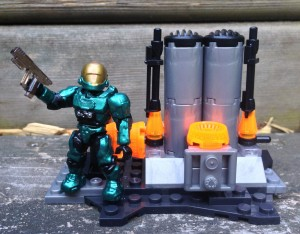 Halo Mega Bloks UNSC Hangar Deck 97133 Review