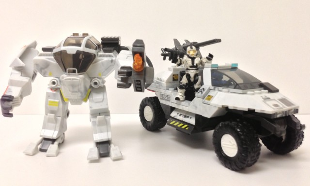 Halo Mega Bloks Unsc Arctic Cyclops Review 97107 Halo Toy News