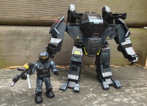 Halo Mega Bloks 97108 Attack Cyclops Review Summer 2013 Sets