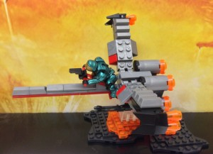 Halo Mega Bloks Booster Frame Vehicle Set Review Summer 2013