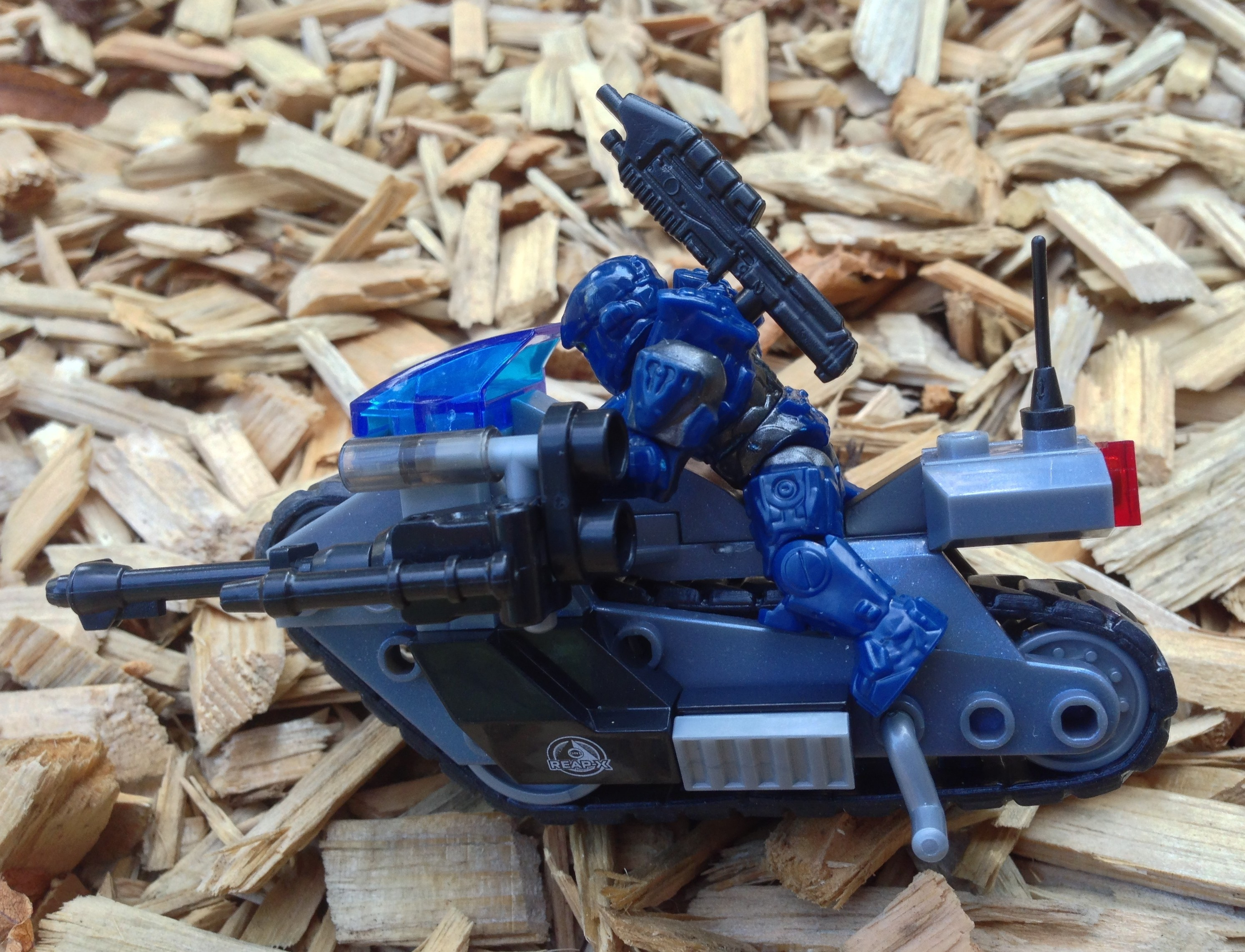 Halo Mega Bloks Unsc Siege Bike Review 97116 Oni Reap X Halo Toy