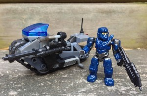 Halo Mega Bloks UNSC Siege Bike Review